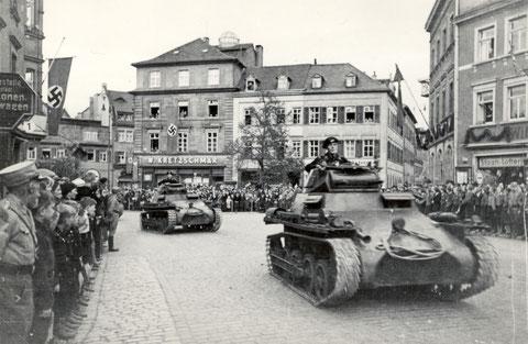 Panzerparade 1936