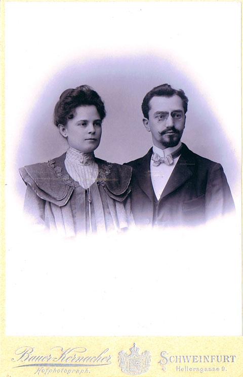 Marie und Carl Dill