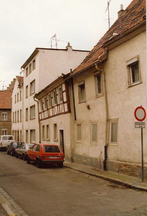 Mai 1989 - Danke an Wolfgang Klopf das Haus mit Fachwerk Zürch 9