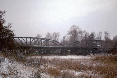 Die Ludwigsbrücke vor dem Neubau