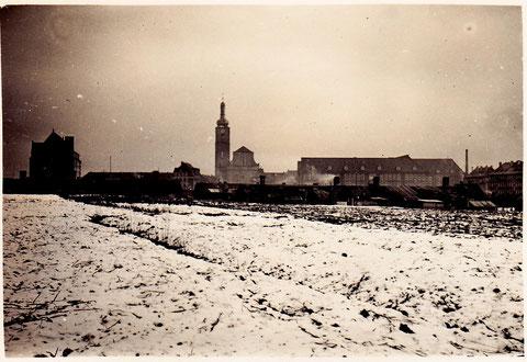 Blick auf das Viertel um die Kilianskirche 1933