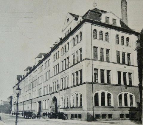 Schrammstraße Kugellagerwerke F&S ca. 1912