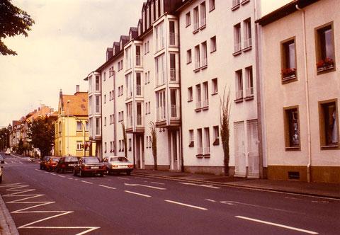 gleiche Ansicht Neutorstraße Schweinfurt - nach Neubau - schade