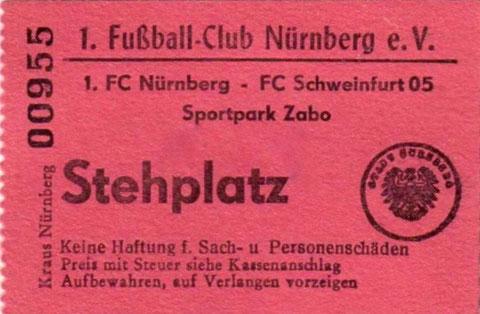 28.04.1963 - endete leider 5:1 für den Club....