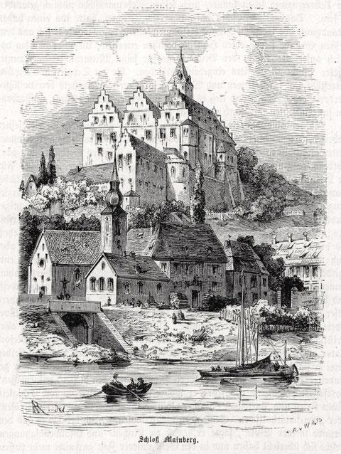 Schloss Mainberg 1890