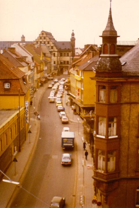Rückertstraße früher