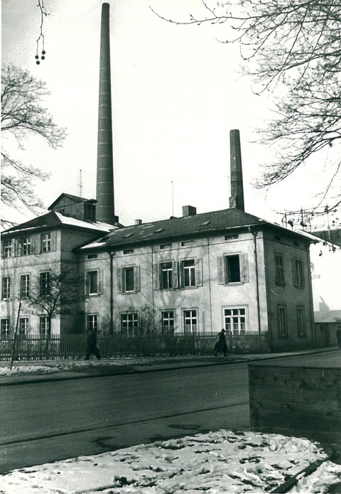 Ansicht vom Marienbach aus 1965