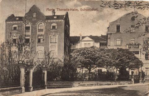 Maria-Theresia-Heim 1925 - damals noch in der Ludwigstraße 1