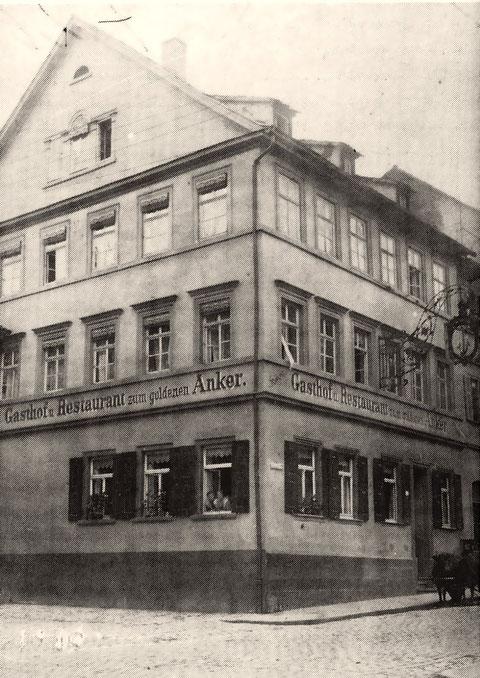 Gasthof Anker - Brückenstraße 32