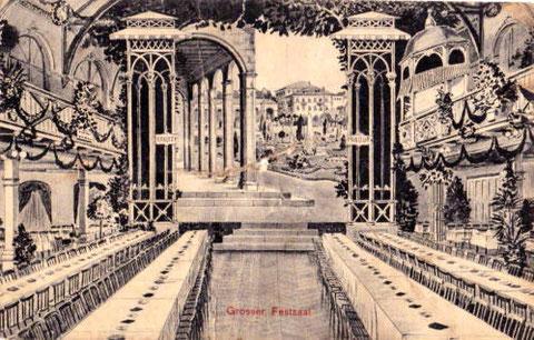 Der Festssal 1915