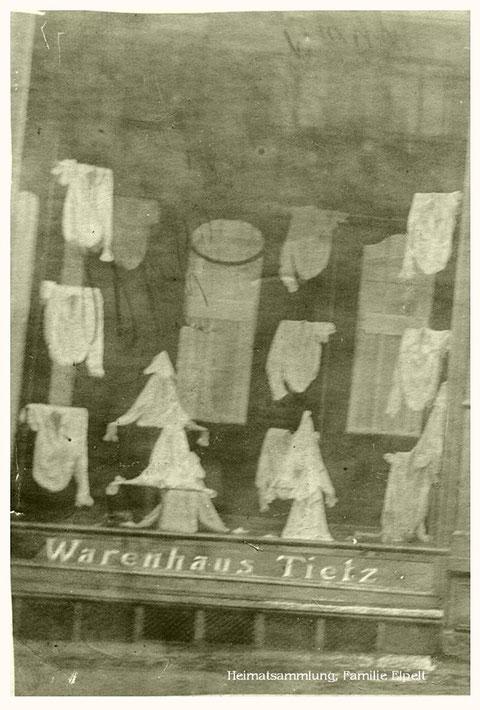 Schaufenster Warenhaus Tietz - Danke an Aribert Elpelt