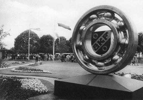 Wiesenfest auf den SKF Erholungsanlagen am Sennfelder See um 1957. Bild © SKF Group