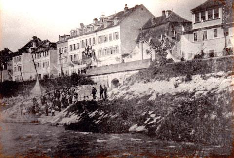 Fischerfest 1904 Foto: Gößwein