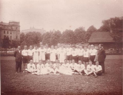Bezirksmeister 1924/25 in Würzburg