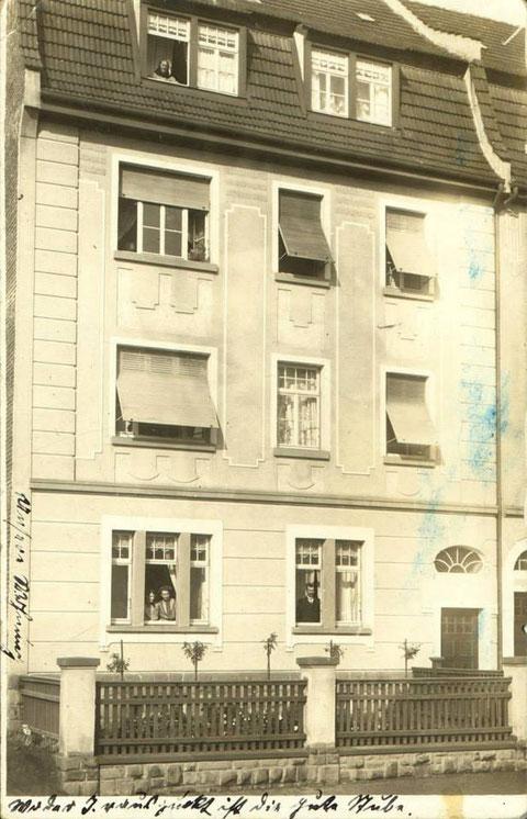 Neutorstraße 39 - weiter unten Foto nach der Beschädigung des Hauses - danke an Andreas Hedler und  Harald Spiegel