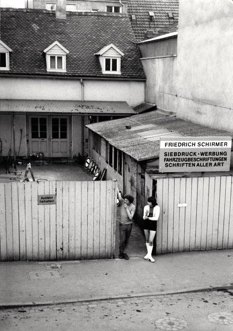 Haus Schirmer Hadergasse 11/13 um 1975