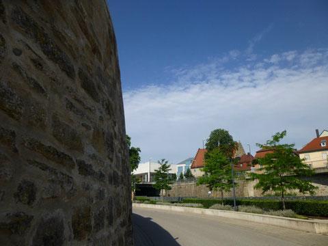 Alte Bastei an der Mainlände