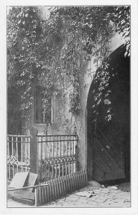 Innenansicht Metzgergasse Nr. 16