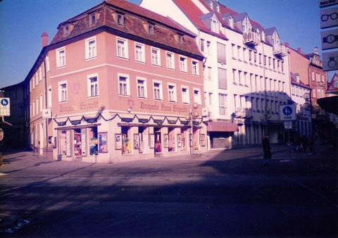Drogerie Erhardt - vor der Renovierung