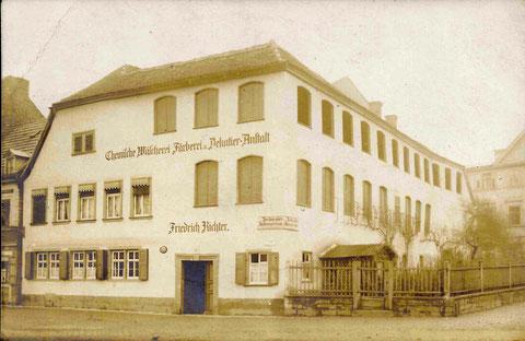 Vor 1912 - Danke an Hans Richter