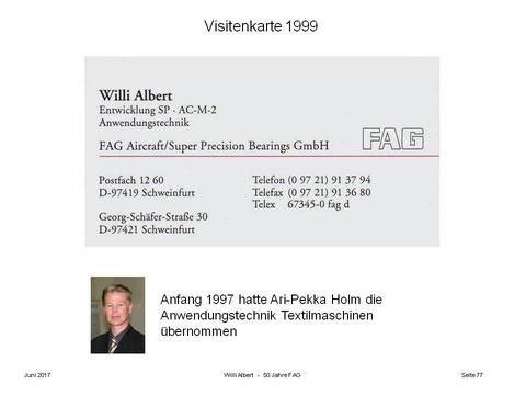 Berichte Von Zeitzeugen Willi Albert Schweinfurtführer
