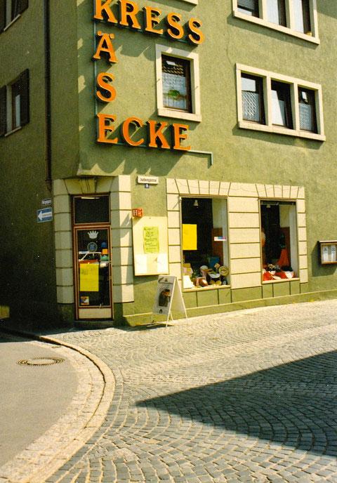 Feinkost-Kress in der Judengasse/Ecke Metzgergasse 1992