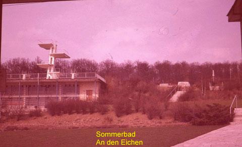 Das Sommerbad in den 1970ern