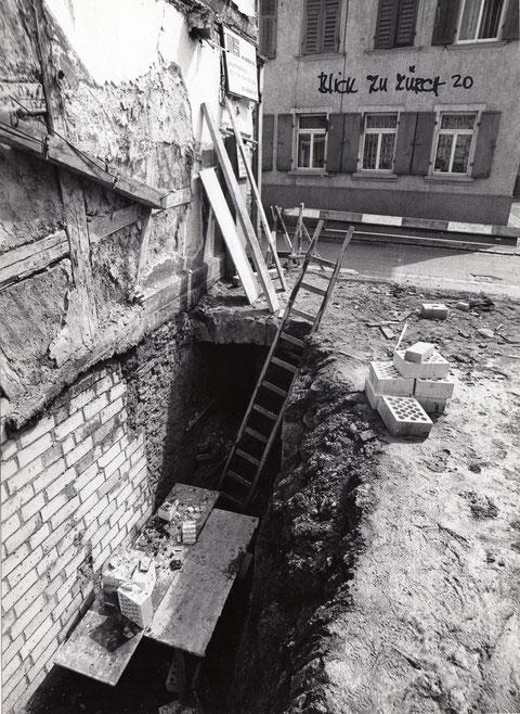 Zürch 12 - einstiger Kellerabgang