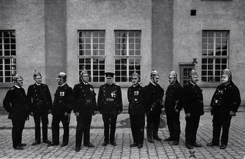 Freiwillige Feuerwehr der Firma Fries & Höpflinger 1929