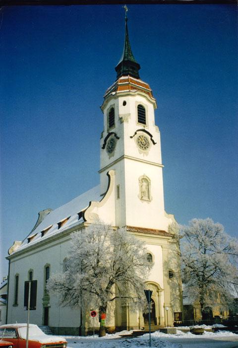 Die Kirche Heidenfeld - Privatfoto