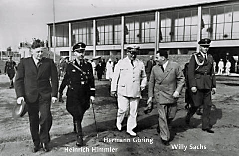 Einweihung des Willy Sachs-Stadions am 23. Juli 1936 unter Teilnahme vieler nationalsozialistischer Würdenträger