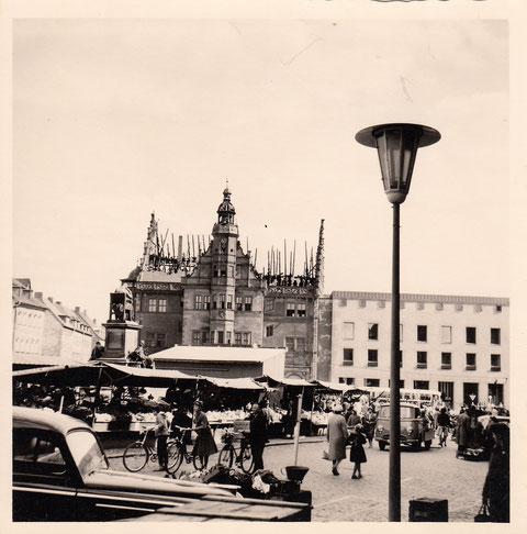1959 - nach dem Rathausbrand