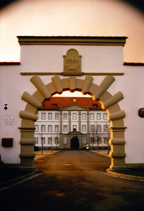 Eingang zum Kloster - Privatfoto