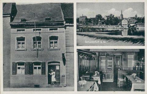 Fotos auf Ansichtskarte