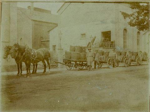 Ausfahren von Koks 1896