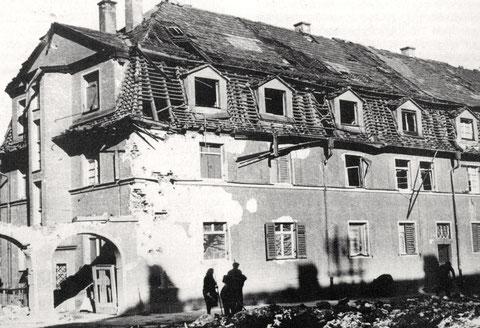St. Kilianstr. 10 - 12 - Kriegszerstörung