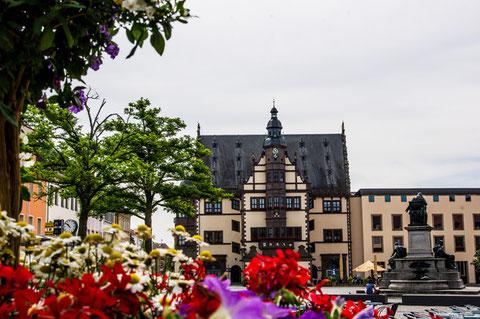 Auf dem Marktplatz - Juni 2015