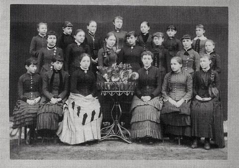 Die 4. Klasse 1885
