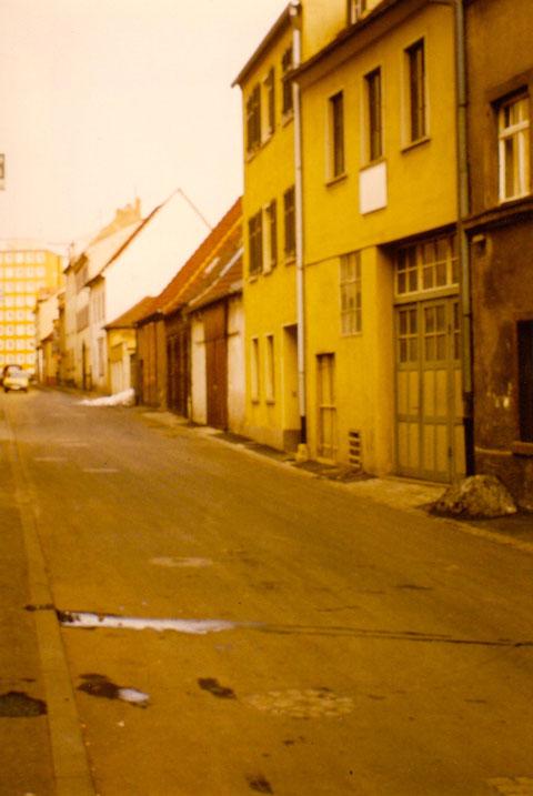 Neue Gasse Schweinfurt 1975