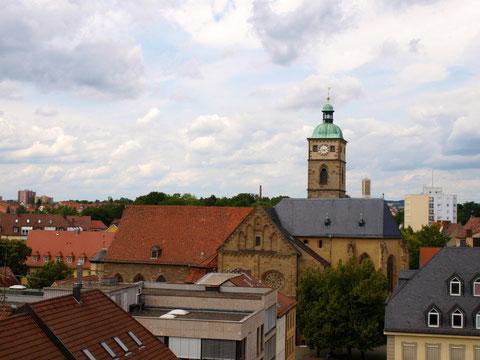 Blick auf die Johanniskirche - Foto: Dieter Bauer