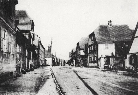 Hauptstraße in Oberndorf
