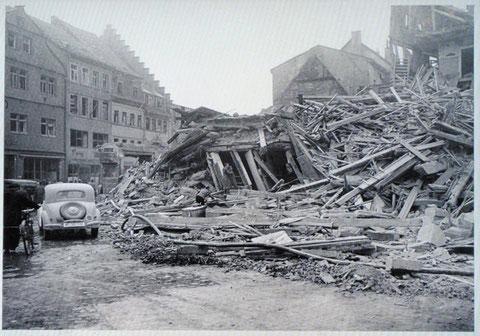 Blick vom Marktplatz in die Spitalstraße