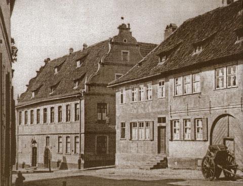 Lebküchnerhaus in der Hadergasse (einst Nr. 39) Schweinfurt