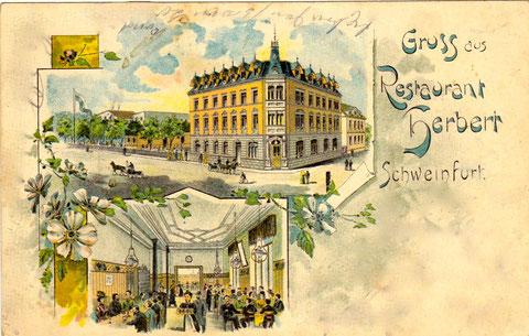 Gaststätte Herbert  - An den Schanzen 3 - ca. 1901