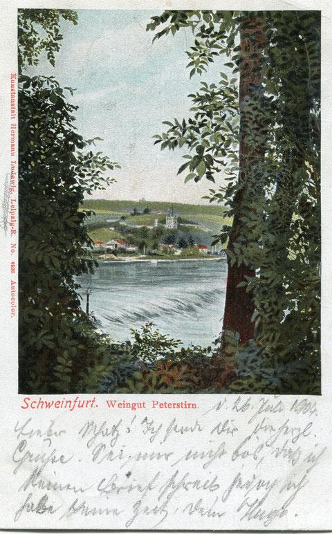 um 1900 - Danke an Andreas Hedler