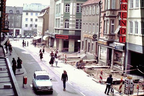 20.06.1981 - Die Spitalstraße wird Fußgängerzone (ab 1982)