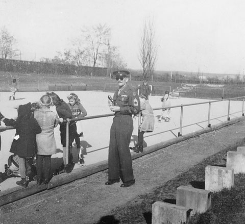 Rollschuhfeld 1948