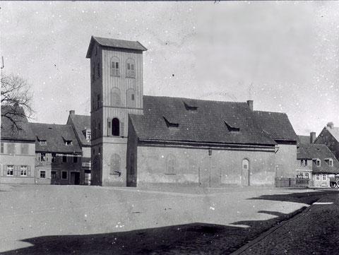 Das Gießhaus vor September 1907