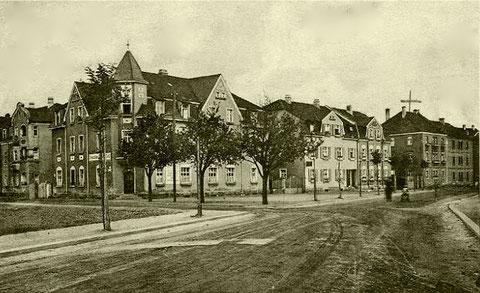 Ecke Bismarck-/Kornstraße