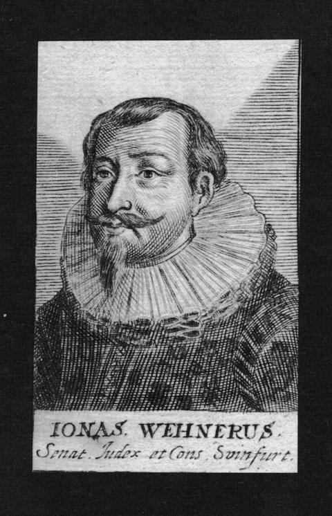 Kupferstich aus Paul Freher, Theatrum Virorum Eruditione Clarorum. Nürnberg 1688